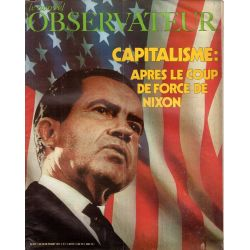 Le Nouvel Observateur n° 354 - 23 aout 1971 - Capitalisme : après le coup de force de Nixon