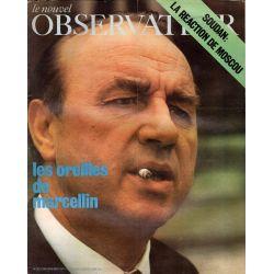 Le Nouvel Observateur n° 351 - 2 aout 1971 - Les Oreilles de Marcellin