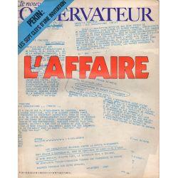 Le Nouvel Observateur n° 350 - 26 juillet 1971 - L'Affaire (U.D.R.)