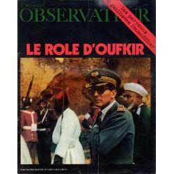 Le Nouvel Observateur n° 349 - 19 juillet 1971 - le Rôle d'Oufkir
