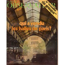 Le Nouvel Observateur n° 348 - 12 juillet 1971 - Qui a vendu les Halles de Paris ?