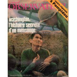 Le Nouvel Observateur n° 346 - 28 juin 1971 - Washington : l'histoire secrète d'un mensonge