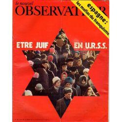 Le Nouvel Observateur n° 321 - 4 janvier 1971 - Être Juif en U.R.S.S.