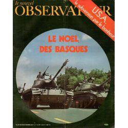 Le Nouvel Observateur n° 319 - 21 décembre 1970 - Le Noël des Basques