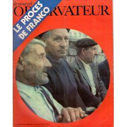 Le Nouvel Observateur n° 318 - 14 décembre 1970 - Le Procès de Franco