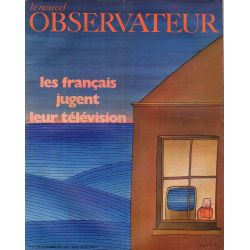 Le Nouvel Observateur n° 312 - 2 novembre 1970 - Les Français jugent leur télévision