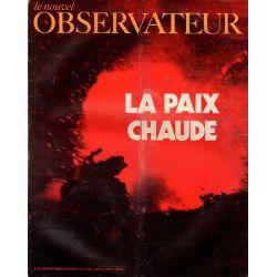 Le Nouvel Observateur n° 307 - 28 septembre 1970 - La Paix chaude