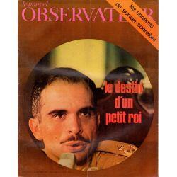 Le Nouvel Observateur n° 306 - 21 septembre 1970 - Hussein : Le destin d'un petit roi
