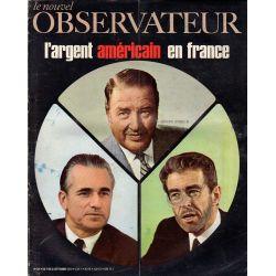 Le Nouvel Observateur n° 304 - 7 septembre 1970 - L'argent américain en France