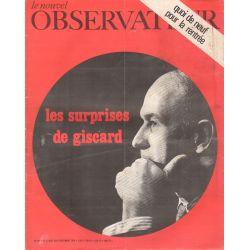 Le Nouvel Observateur n° 303 - 31 aout 1970 - Les surprises de Giscard
