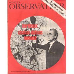 Le Nouvel Observateur n° 302 - 24 aout 1970 - Bordeaux : Chaban-Delmas menacé