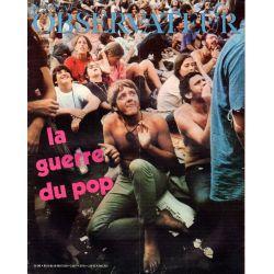 Le Nouvel Observateur n° 300 - 10 aout 1970 - La Guerre du Pop