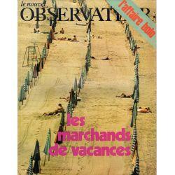 Le Nouvel Observateur n° 298 - 27 juillet 1970 - Les marchands de vacances