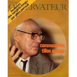 Le Nouvel Observateur n° 297 - 20 juillet 1970 - Communistes : Tillon accuse