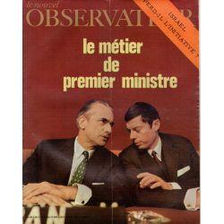 Le Nouvel Observateur n° 296 - 13 juillet 1970 - Le métier de Premier Ministre