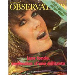 Le Nouvel Observateur n° 295 - 6 juillet 1970 - Jane Fonda : confession d'une militante