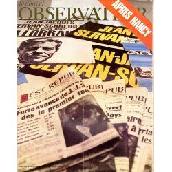 Le Nouvel Observateur n° 294 - 29 juin 1970 - Après Nancy