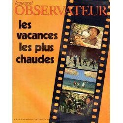 Le Nouvel Observateur n° 293 - 22 juin 1970 - Les vacances les plus chaudes