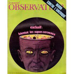 Le Nouvel Observateur n° 287 - 11 mai 1970 - Exclusif : bientôt les super-cerveaux