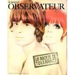 Le Nouvel Observateur n° 282 - 6 avril 1970 - La société de tolérance