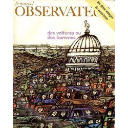 Le Nouvel Observateur n° 280 - 23 mars 1970 - Des voitures ou des hommes