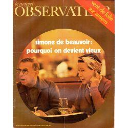 Le Nouvel Observateur n° 279 - 16 mars 1970 - Simone de Beauvoir : pourquoi on devient vieux