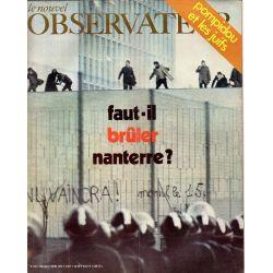 Le Nouvel Observateur n° 278 - 9 mars 1970 - Faut-il brûler Nanterre ?