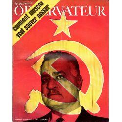 Le Nouvel Observateur n° 274 - 9 février 1970 - Comment Moscou veut sauver Nasser