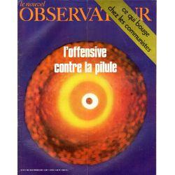 Le Nouvel Observateur n° 273 - 2 février 1970 - L'offensive contre la pilule
