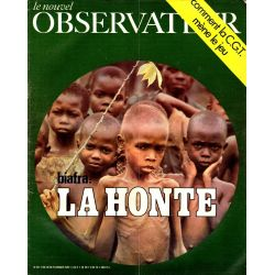 Le Nouvel Observateur n° 271 - 19 janvier 1970 - Biafra : La Honte