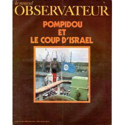 Le Nouvel Observateur n° 269 - 5 janvier 1970 - Pompidou et le coup d'Israel