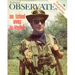Le Nouvel Observateur n° 264 - 1 décembre 1969 - Au Tchad avec la Légion