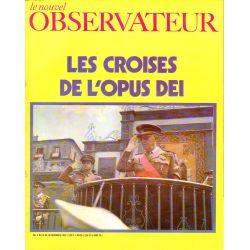 Le Nouvel Observateur n° 261 - 10 novembre 1969 - Les croisés de l'Opus Dei