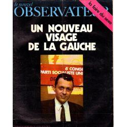 Le Nouvel Observateur n° 260 - 3 novembre 1969 - Un nouveau visage de la Gauche, Michel Rocard
