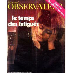 Le Nouvel Observateur n° 259 - 27 octobre 1969 - Le temps des fatigués