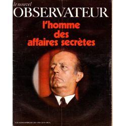 Le Nouvel Observateur n° 258 - 20 octobre 1969 - L'homme des affaires secrètes