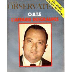 Le Nouvel Observateur n° 255 - 29 septembre 1969 - O.R.T.F. L'affaire Desgraupes