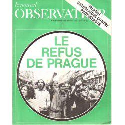 Le Nouvel Observateur n° 250 - 25 août 1969 - Le refus de Prague