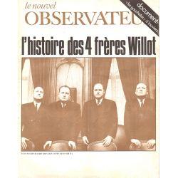 Le Nouvel Observateur n° 247 - 4 août 1969 - L'histoire des 4 frères Willot