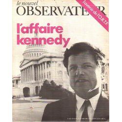 Le Nouvel Observateur n° 246 - 28 juillet 1969 - L'Affaire Kennedy