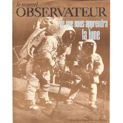 Le Nouvel Observateur n° 245 - 21 juillet 1969 - Ce que nous apprendra la Lune