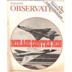 Le Nouvel Observateur n° 244 - 14 juillet 1969 - Mirage contre Mig