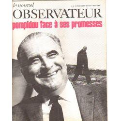 Le Nouvel Observateur n° 240 - 17 juin 1969 - Pompidou face à ses promesses