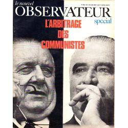 Le Nouvel Observateur n° 238 - 3 juin 1969 - Pompidou vs Poher : l'arbitrage des communistes