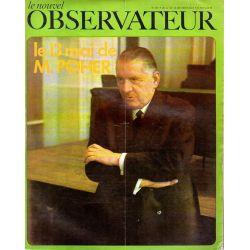 Le Nouvel Observateur n° 235 - 12 mai 1969 - Le 13 mai de M. Poher