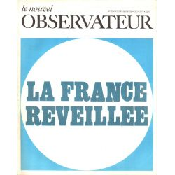 Le Nouvel Observateur n° 233 - 29 avril 1969 - La France réveillée