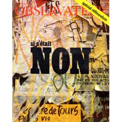 Le Nouvel Observateur n° 232 - 22 avril 1969 - Référendum : si c'était Non