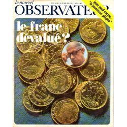 Le Nouvel Observateur n° 227 - 17 mars 1969 - Le Franc dévalué ?