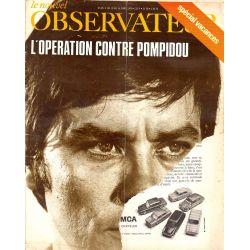 Le Nouvel Observateur n° 226 - 10 mars 1969 - L'opération contre Pompidou