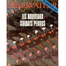 Le Nouvel Observateur n° 230 - 7 avril 1969 - Les nouveaux soldats perdus